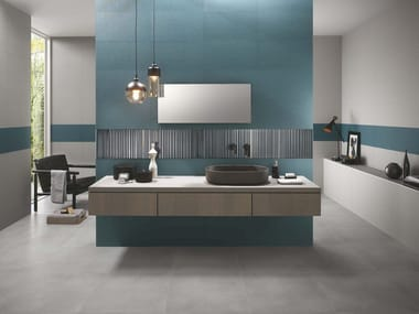 Indoor white-paste wall tiles MILANO & WALL | Wall tiles