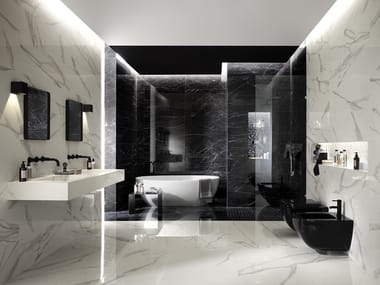 White-paste wall tiles with marble effect ROMA CLASSIC | Wall tiles