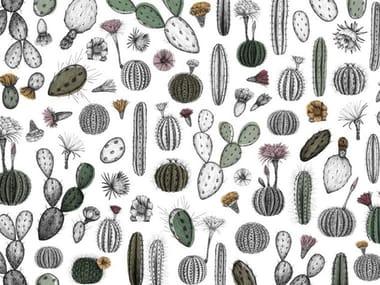 Papel de parede de flores CACTOFILIA
