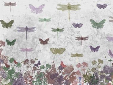 Papel de parede de flores INDIAN SUMMER
