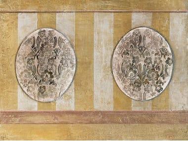 Papel de parede adesivo lavável com listrado TAPPEZZERIA DIPINTA RITROVATA