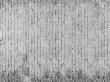 Papel de parede com efeito concreto RAW CONCRETE