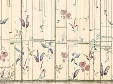 Oriental wallpaper, PVC free, eco, washable EQUILIBRISMI IN SOFFITTA