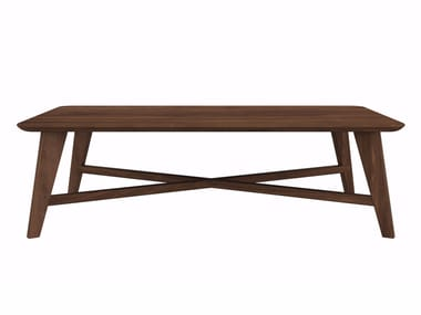 Thin Salontafel Ethnicraft : Shadow coffee table by ethnicraft design tip place a compact