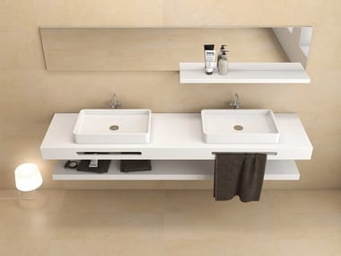 Scene® washbasin countertop Washbasin countertop