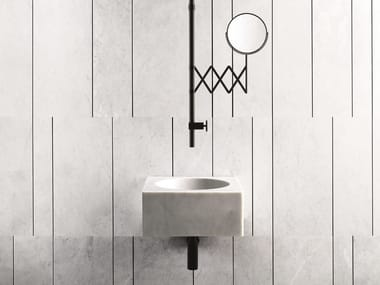 Ceiling mounted 1 hole washbasin mixer FONTANE BIANCHE | Ceiling mounted washbasin mixer