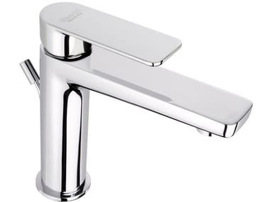 Single handle washbasin mixer with pop up waste FREEDOM   Washbasin mixer with pop up waste