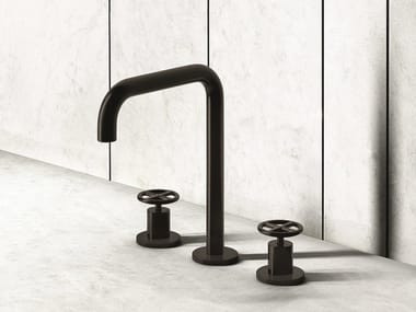 3 hole countertop washbasin tap FONTANE BIANCHE | 3 hole washbasin tap