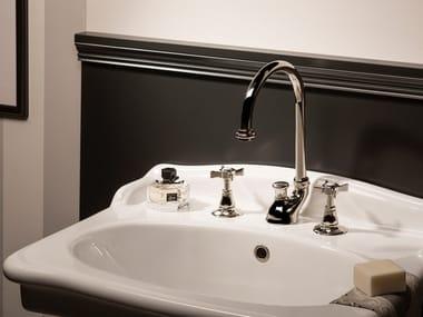 Rubinetto per lavabo a 3 fori da piano DAYTIME | Rubinetto per lavabo