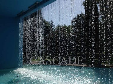 Cascade Fountain Water curtain waterfalls