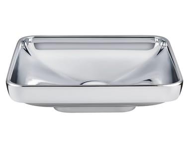 Vasque à poser rectangulaire en céramique WATER JEWELS | Lavabo rectangulaire