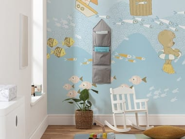 Nonwoven kids wallpaper WAVY VENTURE