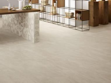 Pavimento/rivestimento in gres porcellanato effetto pietra WAYSTONE SAND