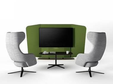 Free standing office screen WE MEET | Office screen