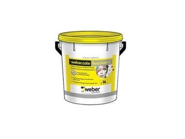 Pittura elastica a base di resine elastomeriche webercote flexcover L