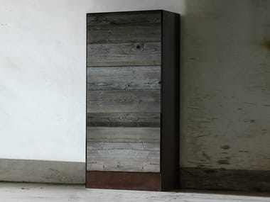 Reclaimed wood chest of drawers WESTON