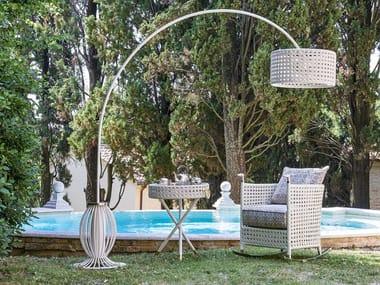 Lampada da terra per esterno alogena in stile classico WEZEN | Lampada da terra per esterno alogena