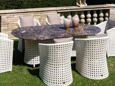Oval garden table WEZEN   Oval table