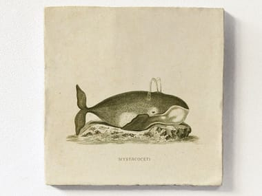 Magnetic tile WHALE