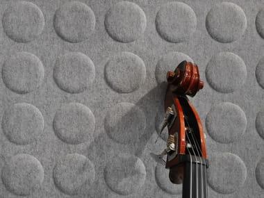 Sheep's wool decorative acoustic panel WHISPERWOOL POLKA