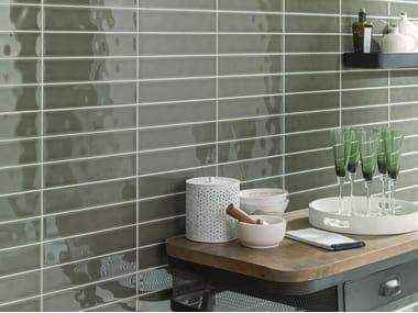 Wall Cladding WHITE & COLORS - MALAGA GREEN