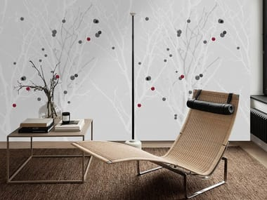 Wall tiles / wallpaper WHITE FOREST