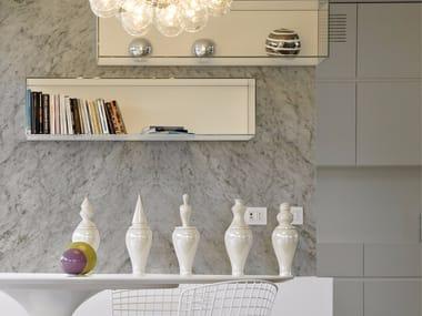 Carta da parati panoramica effetto marmo WHITE MARBLE