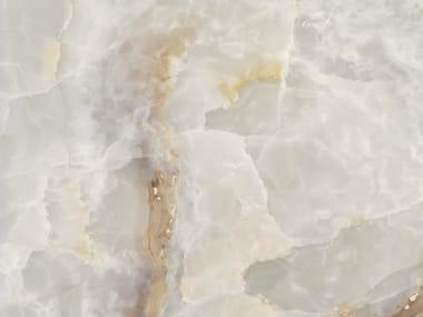 Porcelain stoneware wall/floor tiles WHITE ONYX