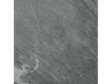 Pavimento/rivestimento in gres porcellanato effetto pietra WIDE GRES 240 CARDOSO GRIGIO SCURO