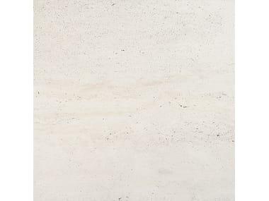 Pavimento/rivestimento in gres porcellanato effetto pietra WIDE GRES 240 REVERSO WHITE