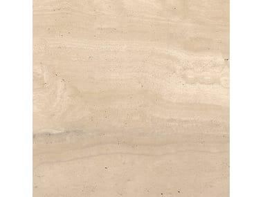 Pavimento/rivestimento in gres porcellanato effetto pietra WIDE GRES 240 REVERSO BEIGE