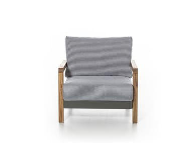 Garden armchair with armrests WIN 05
