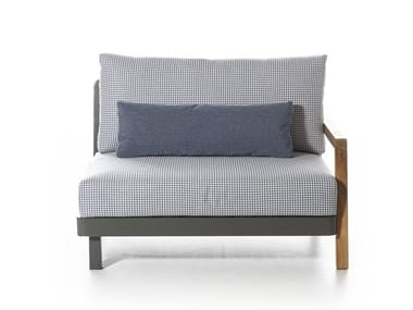 Fabric garden armchair WIN 107
