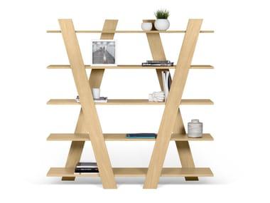Open freestanding shelving unit WIND