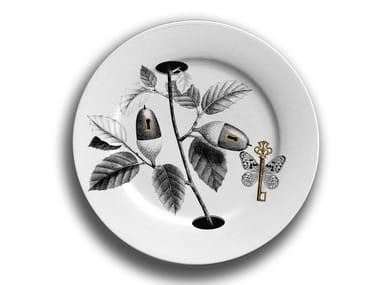 Porcelain dinner plate WINTER 1