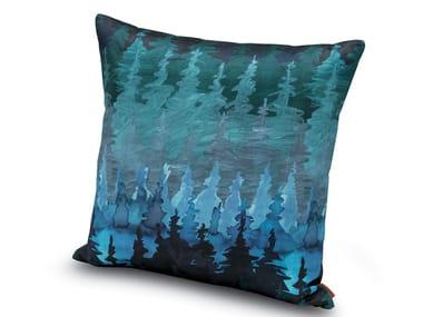 Cushion in printed cotton satin WINTERTHUR
