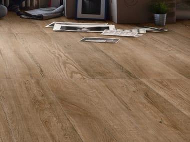 Pavimento in gres porcellanato effetto legno WOOD 1a4 BS
