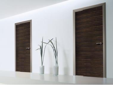Hinged wooden door WOOD | Wooden door