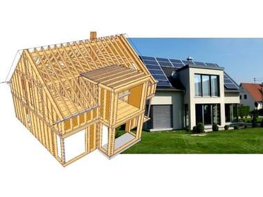 Progettazione tetti in legno WoodCon A - Tetti in legno By SYSTEMS