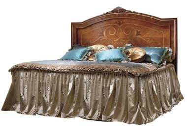 Wooden double bed EMOZIONI | Wooden bed