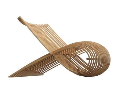 Poltrona in legno WOODEN CHAIR
