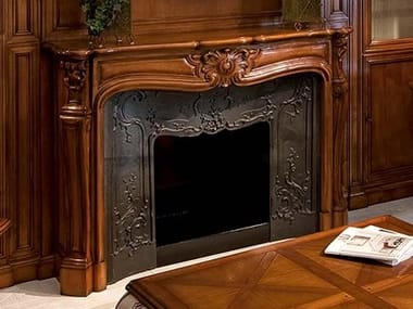 Wooden Fireplace Mantel CAPRICCI | Wooden Fireplace Mantel