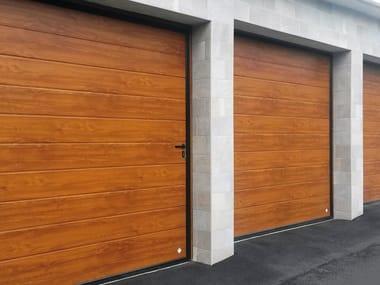 Sliding side garage door IBIS   Wooden garage door