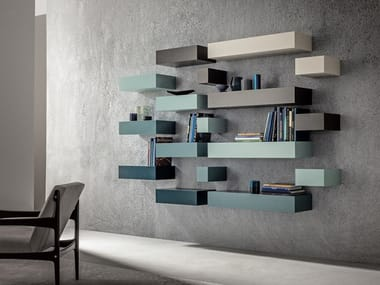 Wooden wall shelf LOFT | Wall shelf