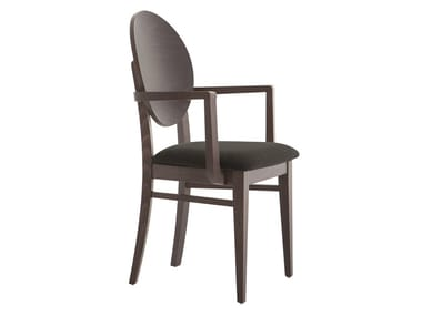 Medallion chair with armrests WOODY 49WP.i2