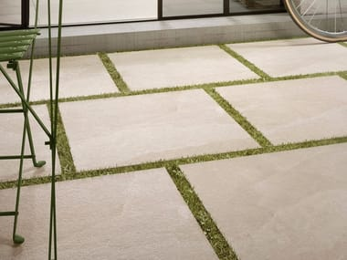 Porcelain stoneware outdoor floor tiles with stone effect X-ROCK | Outdoor floor tiles