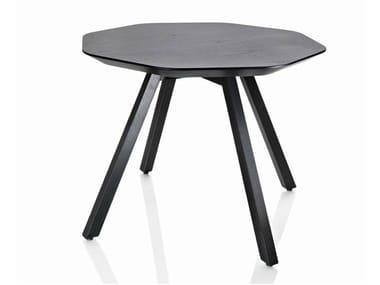 Tavolino ottagonale in frassino X TABLE | Tavolino
