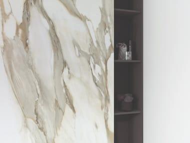 Revestimiento de pared/suelo de gres porcelánico imitación mármol XLIGHT PREMIUM  AURA GOLD