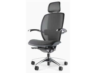 Swivel executive chair with headrest XTEN® | Executive chair with headrest