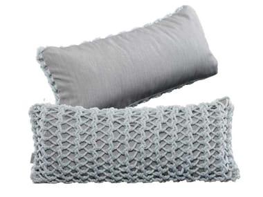 Rectangular polyester cushion XX I - ONE SIDED